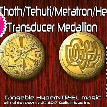 Galighticus Lord Thoth Transducer Medallion